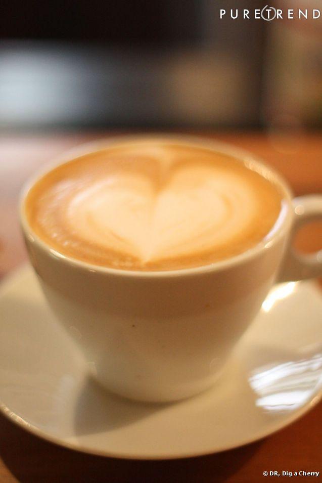 On se met au latte art difficile de trouver un caf - Ou trouver de la mousse pour faire des coussins ...