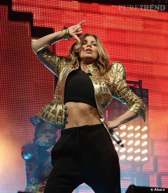 Fergie, reine du bling bling, va-t-elle faire mieux au concert des Black Eyed Peas au stade de France ?