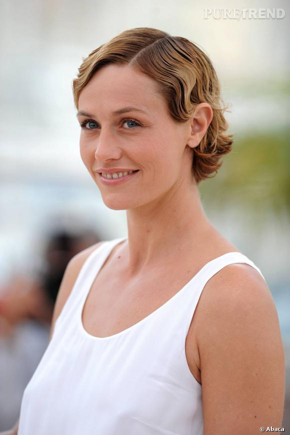 "Cécile de France lors du photocall de ""The Kids With a Bike"", au 64e Festival de Cannes."