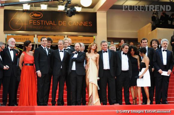 """L'équipe du film """"La Conquête""""."""