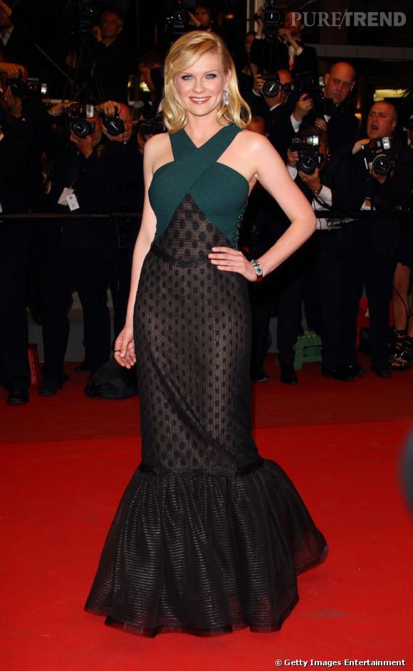 Kirsten Dunst dans une robe Rodarte automne-hiver 2011.
