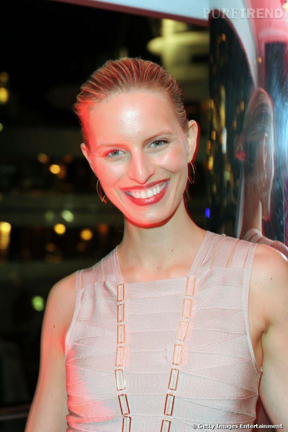 Karolina Kurkova à la soirée JetSet pendant le Grand Prix de Monaco.