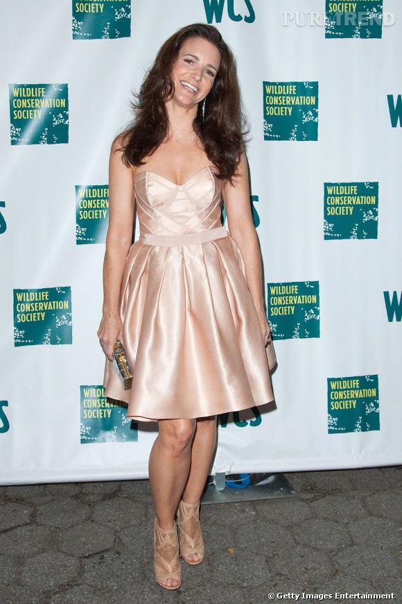 Kristin Davis au gala de printemps de la société protectrice de la faune, à New York.