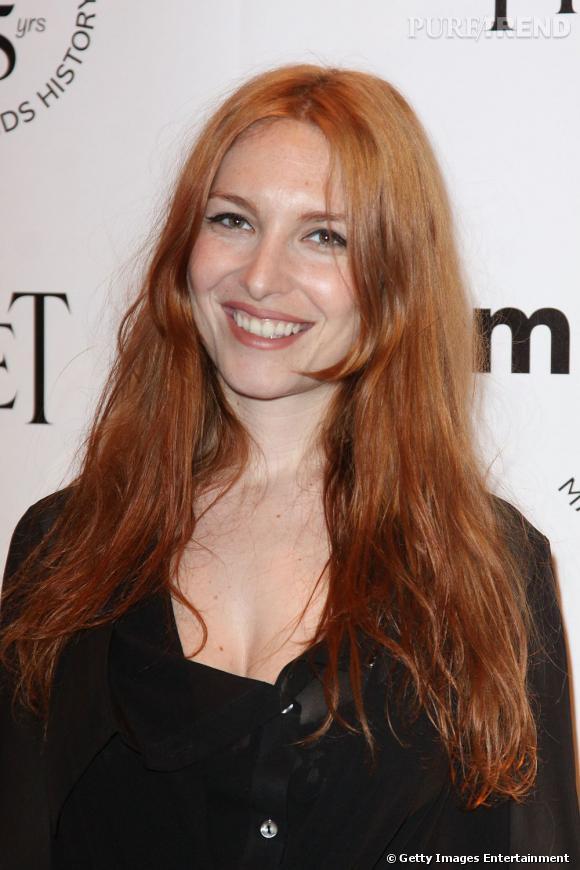 Joséphine de la Baume au Gala inspiration de l'amfAR.