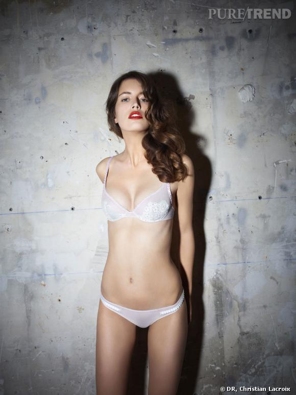 Collection lingerie et beachwear Christian Lacroix printemps-été 2012.