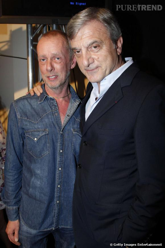 Bill Gaytten et Sidney Toledano, Directeur Général du groupe Christian Dior et PDG de John Galliano France.