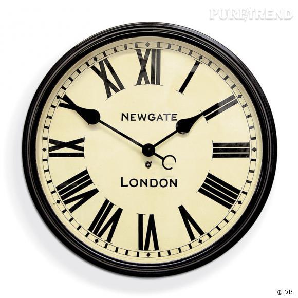 horloge anglaise au design r tro newgate clocks 135. Black Bedroom Furniture Sets. Home Design Ideas