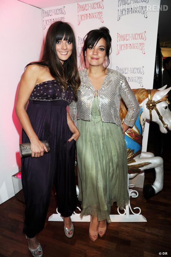Sarah Owen et Lily Allen, créatrices de la boutique Lucy in Disguise.