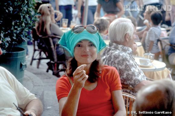 Exposition Jackie O à Capri en association avec Tod's.