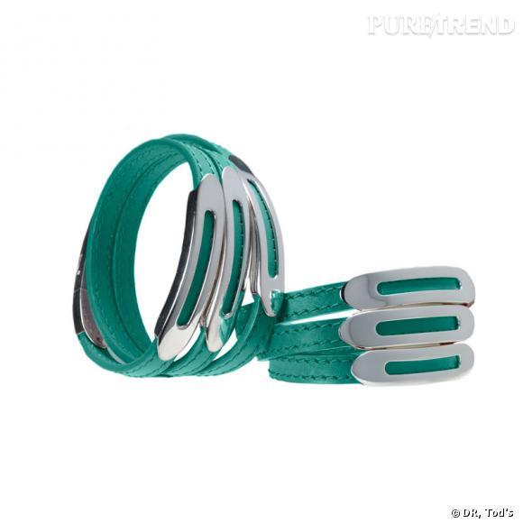 Collection limitée de Tod's : bracelet Rounded.