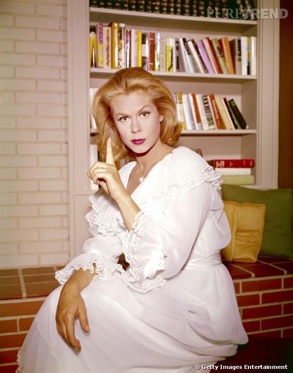 Dans les années 60, Elizabeth Montgomery et sa chevelure envoutent les spectateurs dans la série Ma sorcière bien aimée.