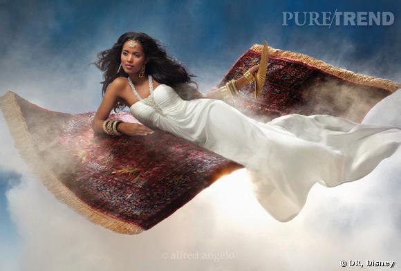 Robe Disney Jasmine d'Aladin.