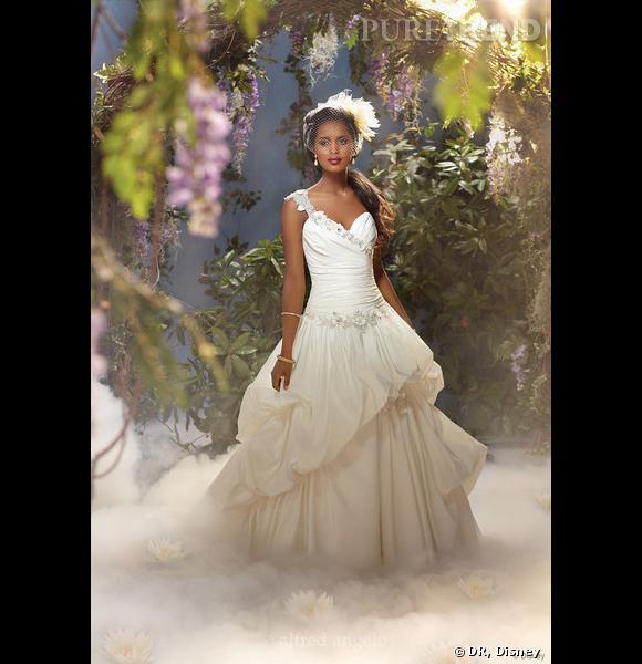 Robe Disney Tiana dans La Princesse et la Grenouille.