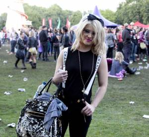 Kelly Osbourne, festivalière lookée