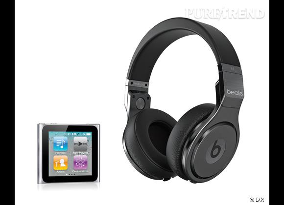 Casque Beats by Dre Pro Special Edition Detox, 590 € + Ipod
