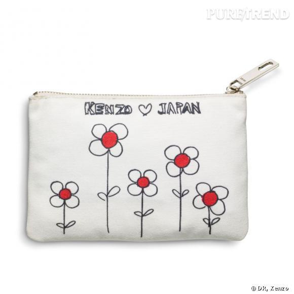 Edition limitée Kenzo loves Japan. Pochette.