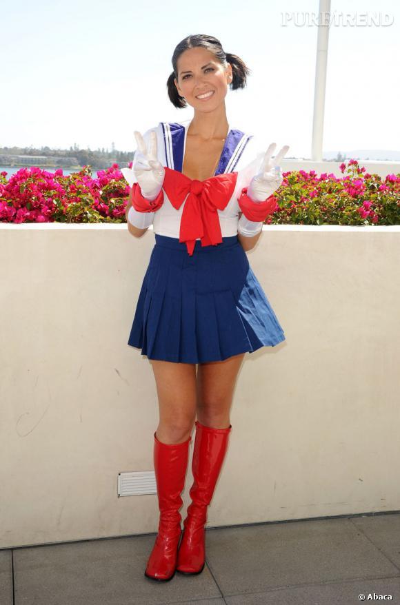 Sailormooon, non Olivia Munn est trop kawaï.