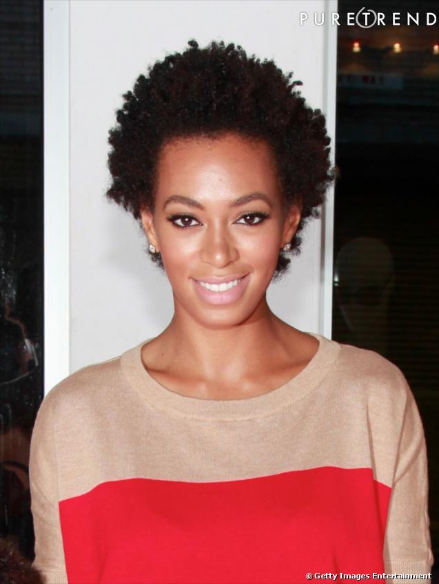 Coiffure visage ovale dans la famille knowles il y a - Coupe afro courte femme ...
