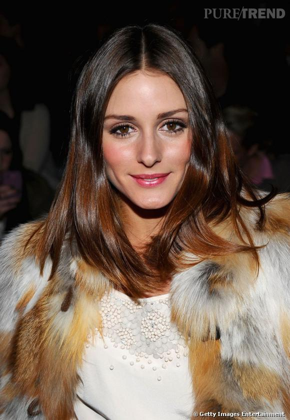 coiffure visage fin la it girl am ricaine olivia palermo mise sur une chevelure longue et tr s. Black Bedroom Furniture Sets. Home Design Ideas