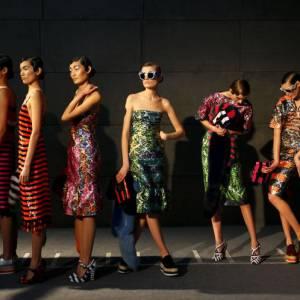 Line up du défilé Prada, collection Printemps-Été 2011