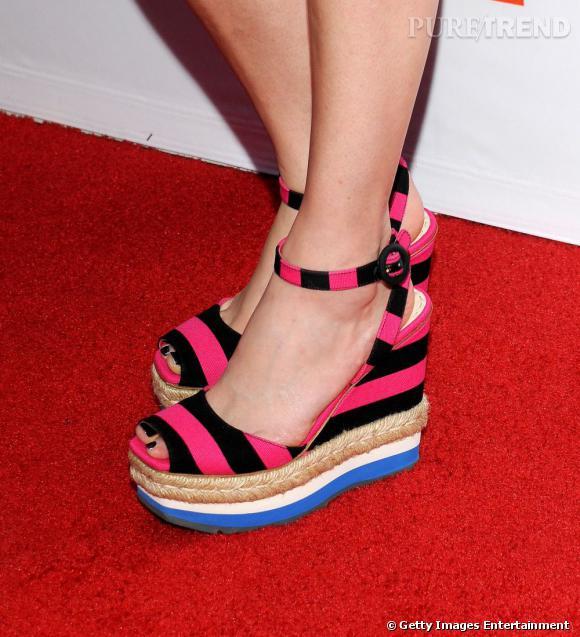 Prada, chaussures de la collection Printemps-Été 2011
