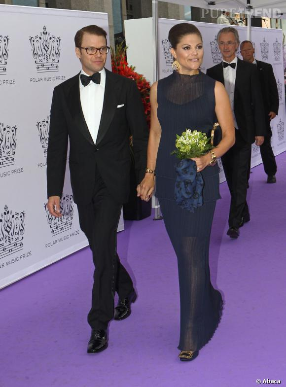 La Princesse Victoria de Suède aux Polar Music Prize 2011 à Stockholm.