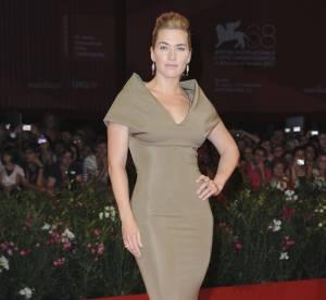 Kate Winslet VS Podium : la robe Victoria Beckham Automne-Hiver 2011/2012