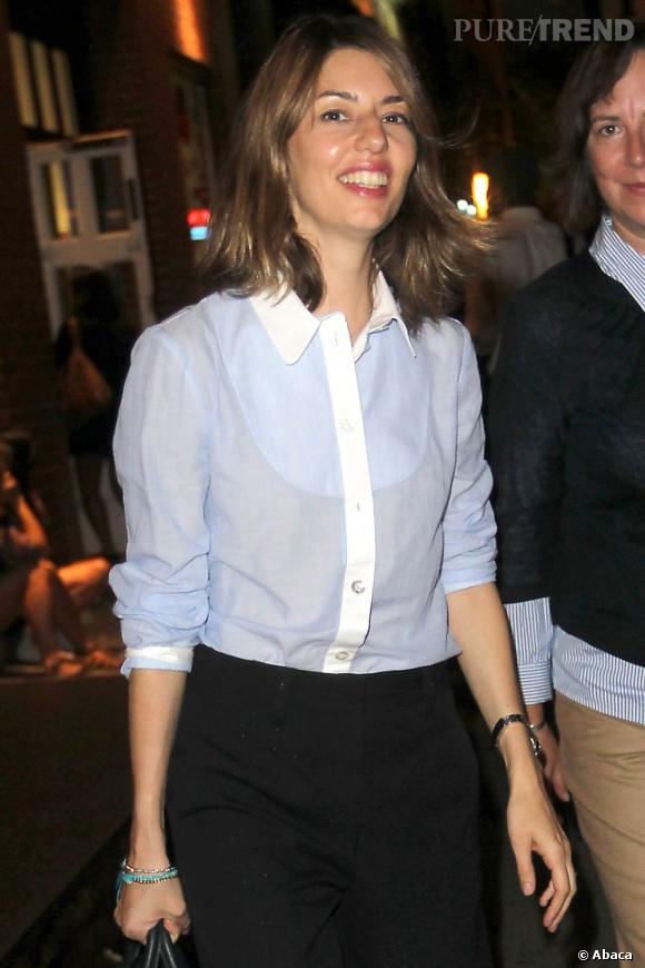 Sofia Coppola lors de la Fashion's Night Out à New York.