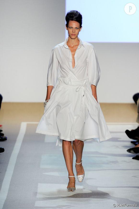 Défilé Diane Von FurstenbergNew-York Printemps-Eté 2012