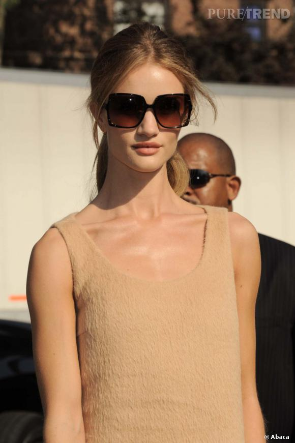 Rosie Huntington-Whiteley au défilé Michael Kors à New York.