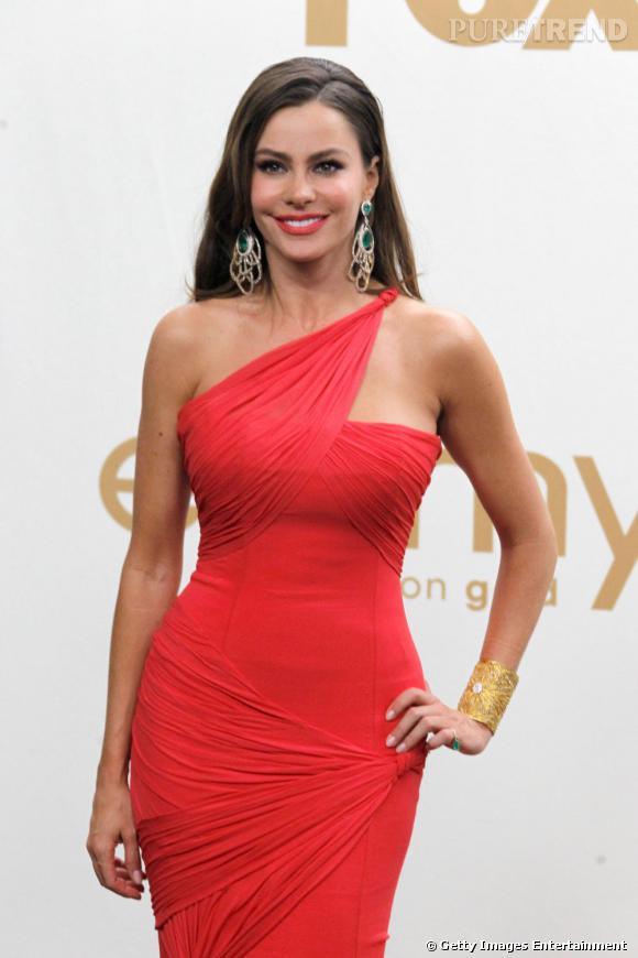 Sofia Vergara aux Emmy Awards 2011 à Los Angeles.
