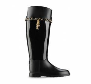 Zoom sur les bottes de pluie