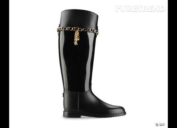 Zoom sur les bottes de pluie Puretrend