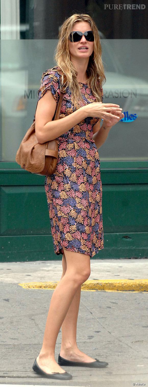 Le flop look de rue : Gisèle version incognito.