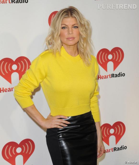 Fergie durant le iHeartRadio Music Festival à Las Vegas.