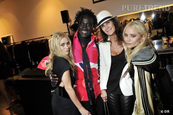 Mary Kate & Ashley Olsen, Lilianne Jossua & Moko (Chrome Heart).