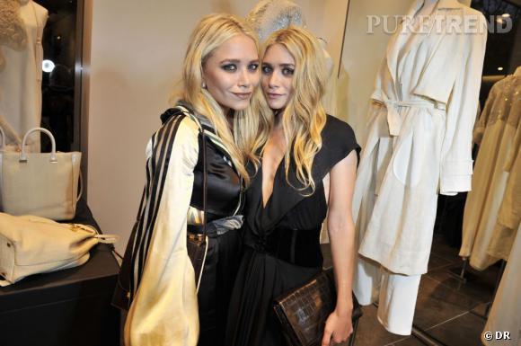 Mary-Kate et Ashley Olsen, un duo ultra-mode et résolument pointu.