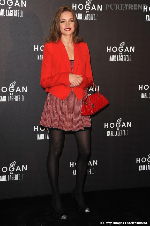 Grande admiratrice de la marque, le top Natalia Vodianova a pu la représenter.