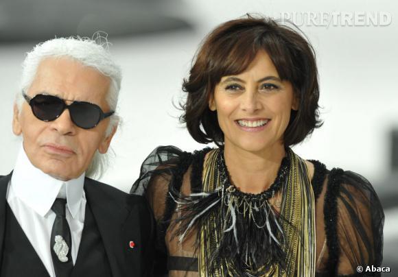 Sa remarquable ressemblance avec Coco Chanel lui aura valu le statut d'égérie pendant très longtemps. Inès de la Fressange a été le premier mannequin à signer un contrat d'exclusivité avec une maison de Haute Couture.