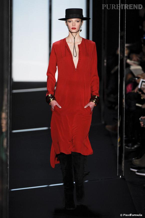 Défilé Diane von Furstenberg automne-hiver 2011-2012