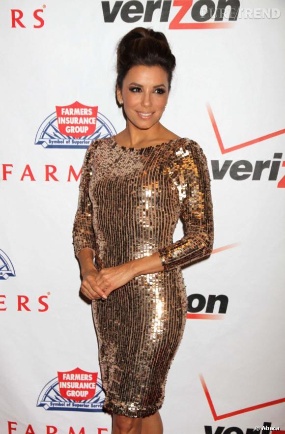 Eva Longoria au gala Padres Contra El Cancer à Las Vegas.