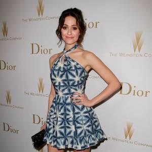 La jolie Emmy Rossum est la nièce de la célèbre styliste Vera Wang.