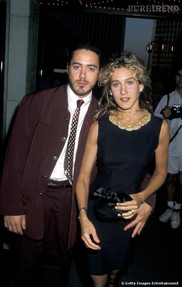 Dans les années 90, Sarah Jessica Parker et Robert Downey Jr sortaient ensemble... Ils se sont finalement séparés à cause des problèmes de drogue de monsieur. De l'histoire ancienne quoi.