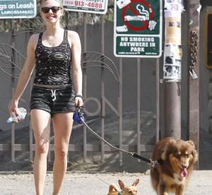 Amanda Seyfried, promenade en pyjama