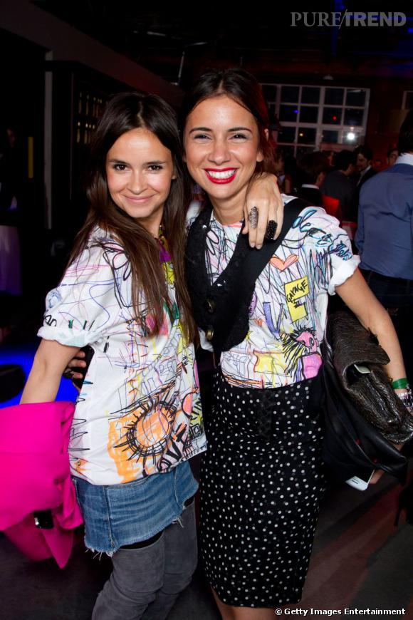 It-girl et grande copine de Mira, Natasha Goldenberg   (Наташа   Гольденберг ) est une touche-à-tout. Rédactrice pour Hello, Grazia, styliste  Kova&T, elle vient de lancer sa propre collection Tzipporah !
