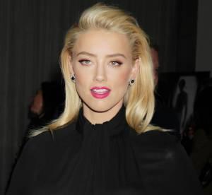 Amber Heard, allure dark et glamour