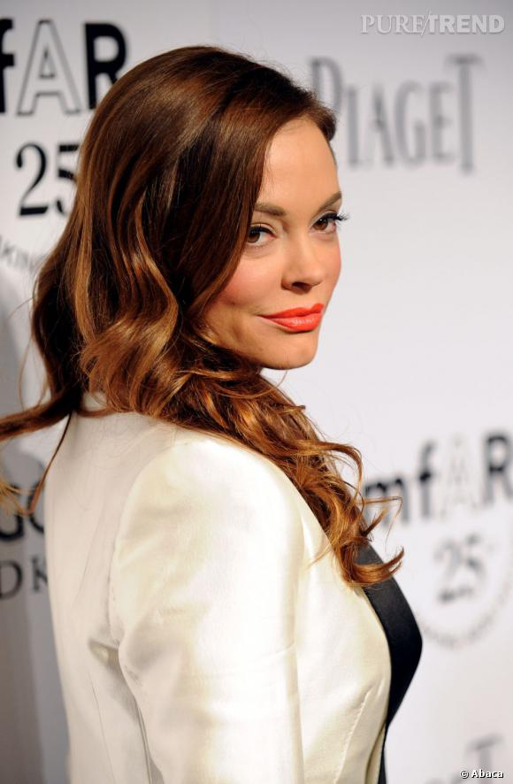 Rose McGowan au Gala Inspiration 2011 de l'amfAR à Los Angeles.