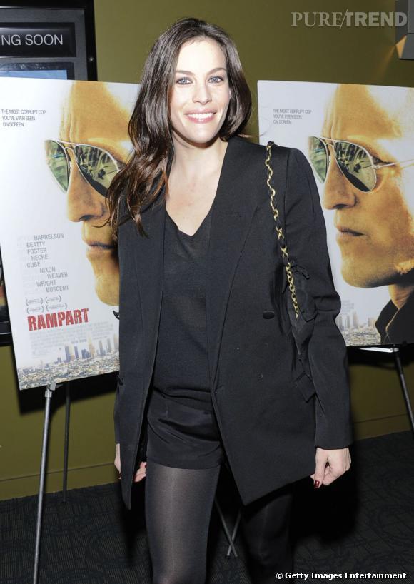 """Liv Tyler à l'avant-première de """"Rampart"""" à New York."""