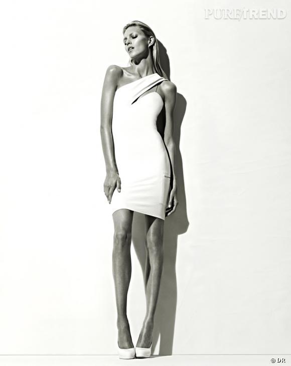 Anja Rubik est le mannequin de la collaboration entre Anthony Vaccarello et La Redoute.