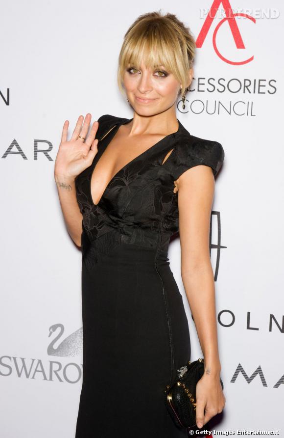 Nicole Richie à la 15ème cérémonie des ACE Awards à New York.